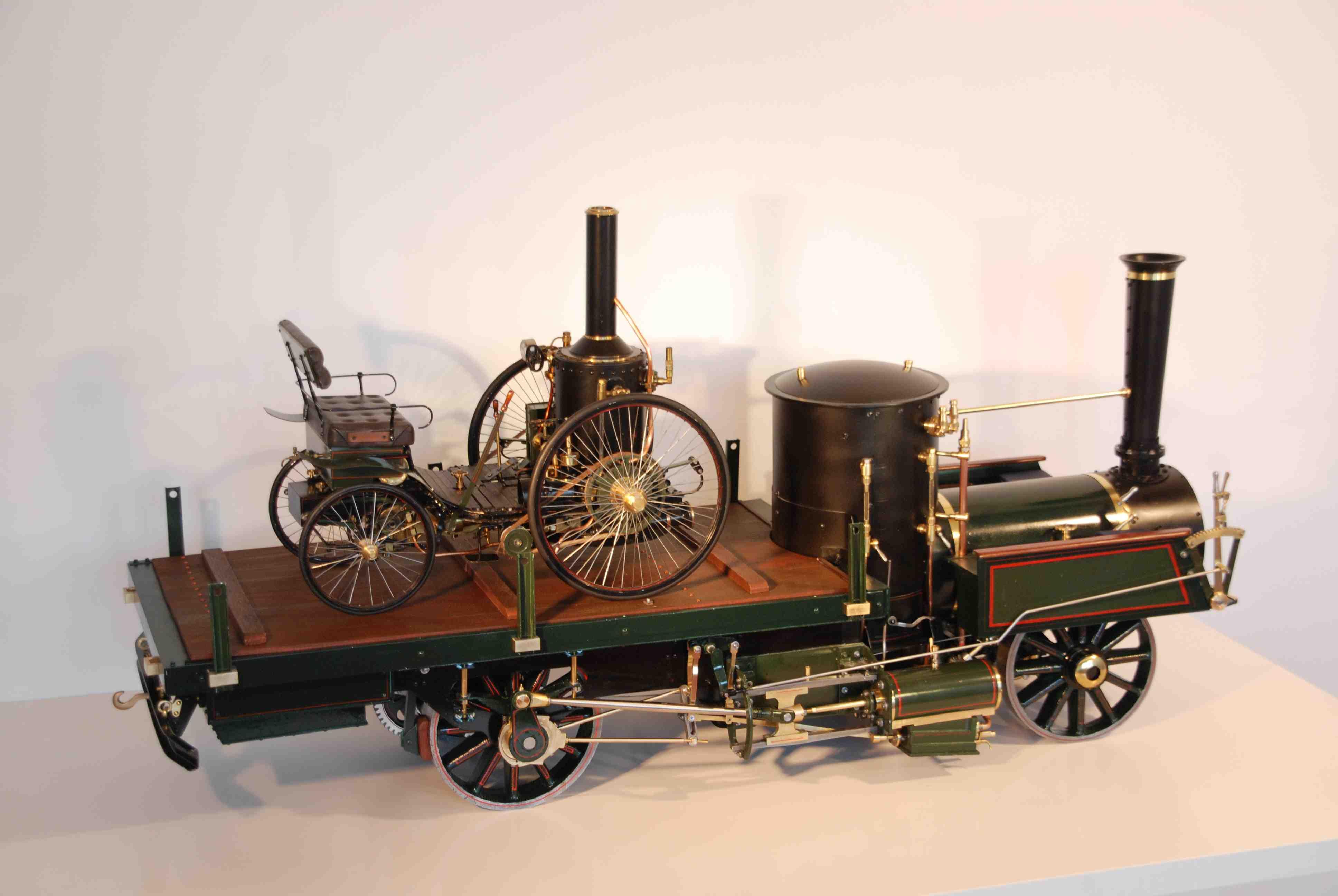 Lokomobile - Dampf-Selbstfahrer