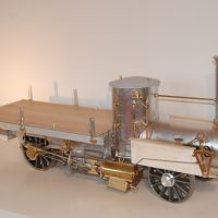 Wechselbild 1: Michaelis Frachtwagen im Rohbau